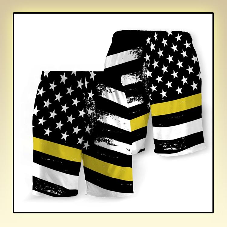 Dispatchers American Flag Beach Short2