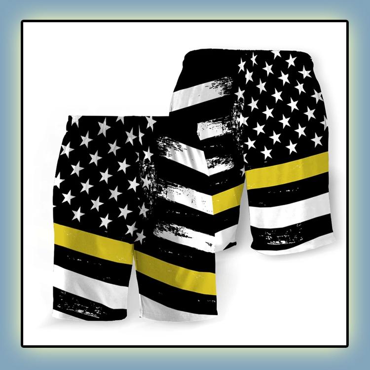 Dispatchers American Flag Beach Short3