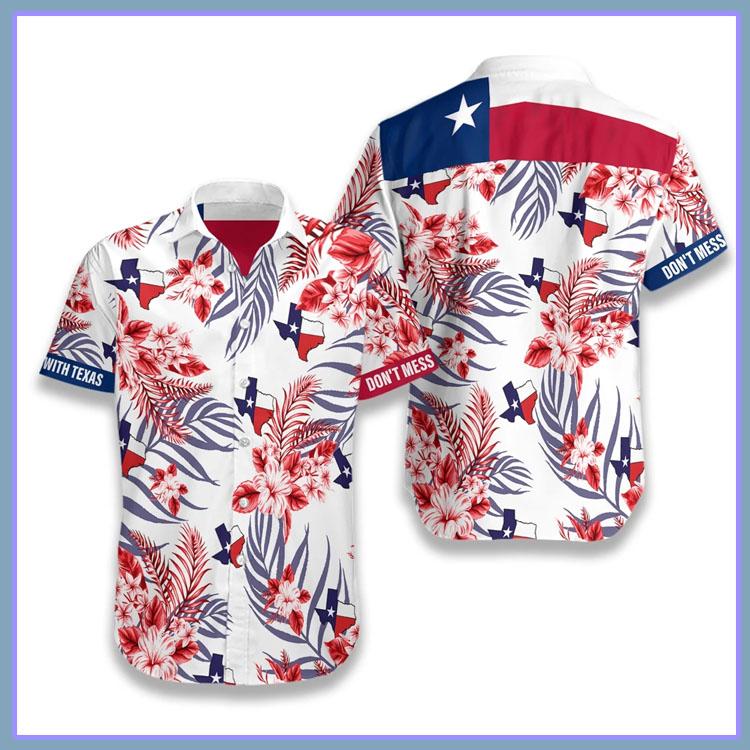 Dont mess with Texas hawaiian shirt6