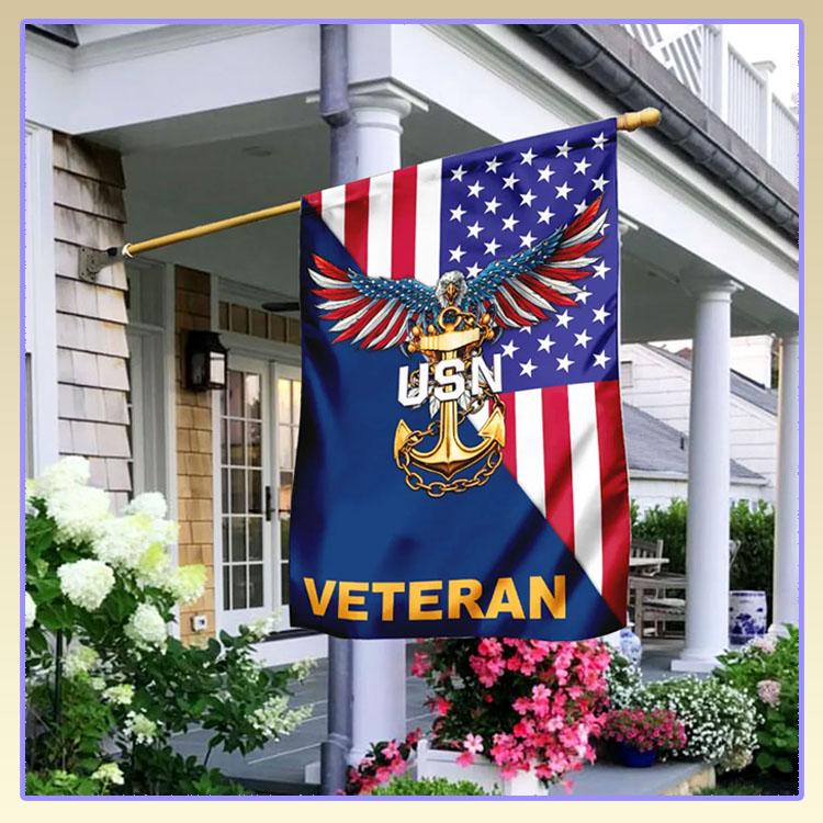Eagle veteran USN American flag6