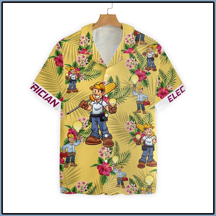 Electrician Hawaiian Shirt 2
