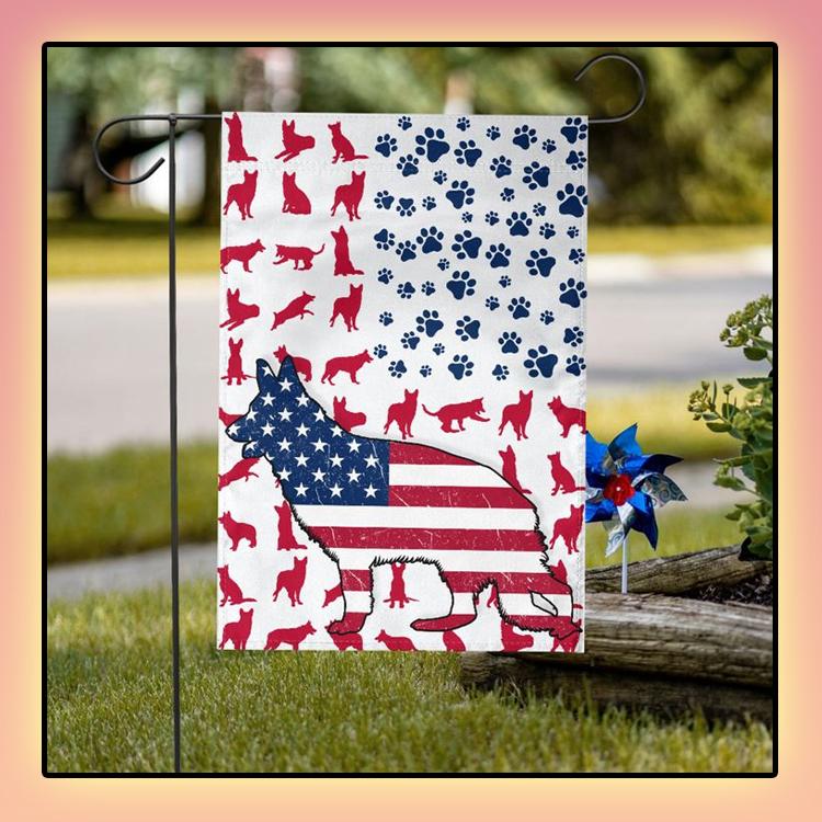 GSD Amercian house flag and garden flag2