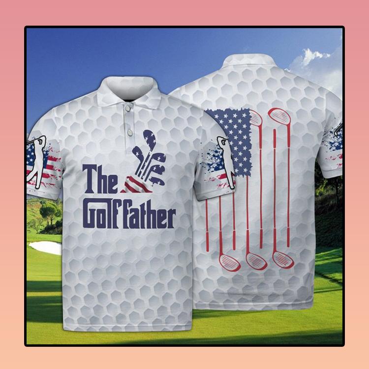 Golf The Golffather Polo Shirt2
