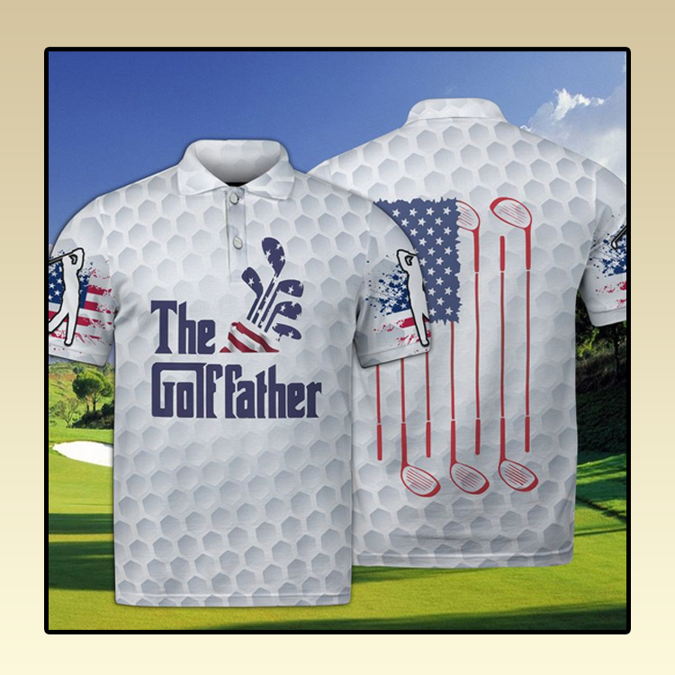 Golf The Golffather Polo Shirt3
