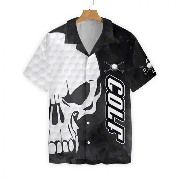 Golf and Skull hawaiian shirt
