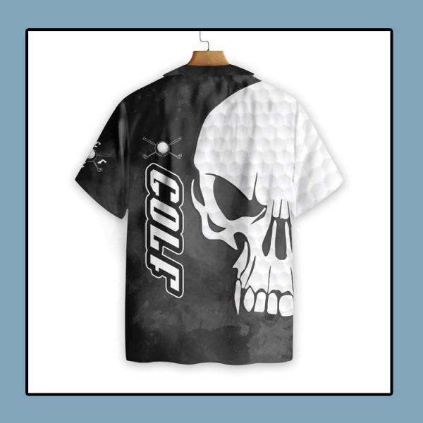 Golf and Skull hawaiian shirt1