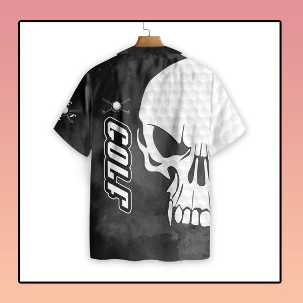 Golf and Skull hawaiian shirt3