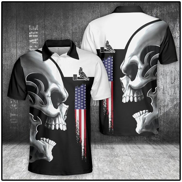 Horse Skull Polo Shirt2