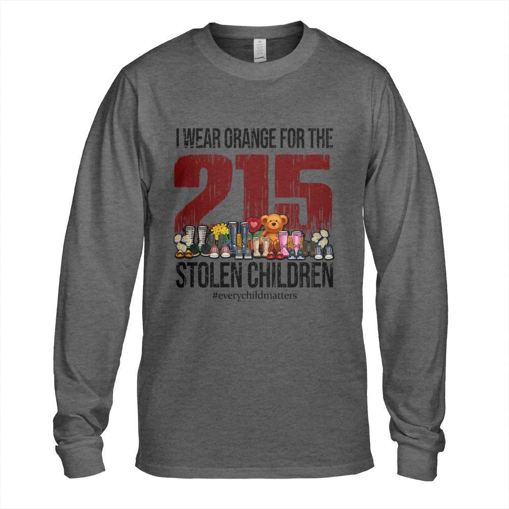 I Wear Orange For The 215 Stolen Children Shirt1