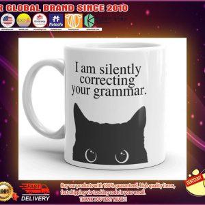 I am silently correcting your grammar mug 4