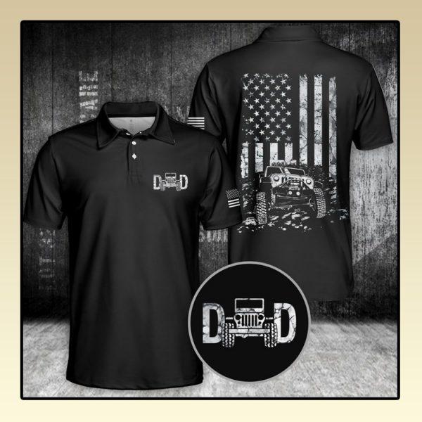 Jeep Dad Polo Shirt3
