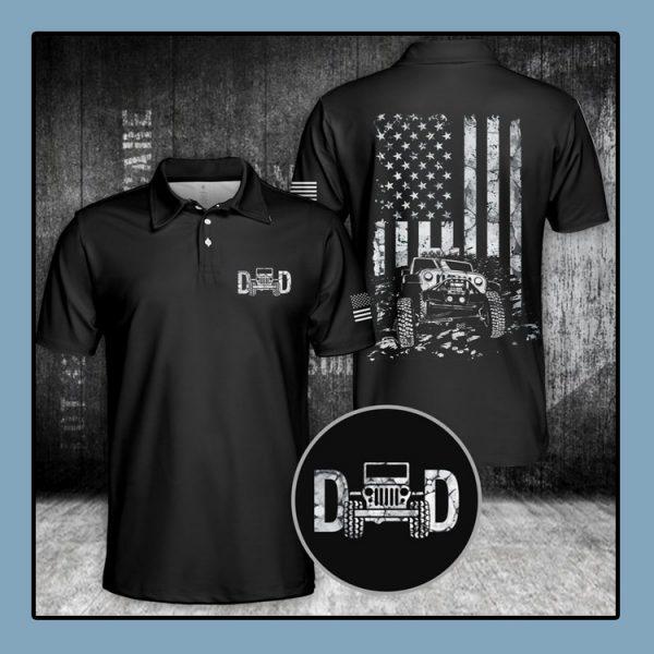 Jeep Dad Polo Shirt4