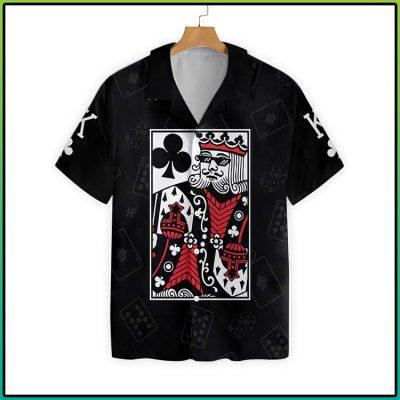 King Card Hawaiian Shirt 2