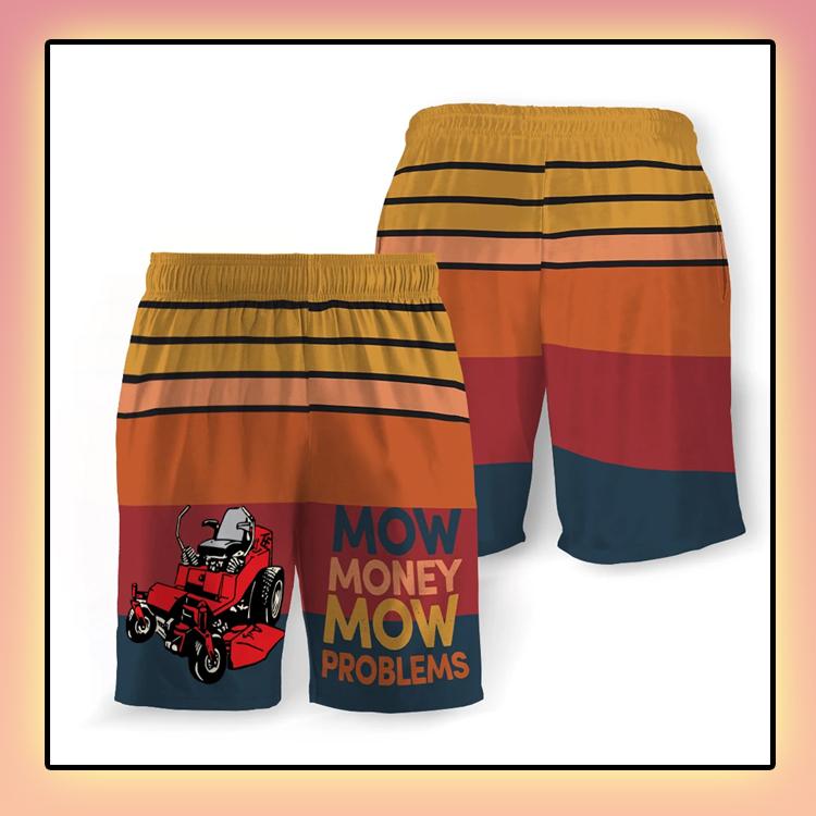 Mow Money Mow Problems Beach Short3