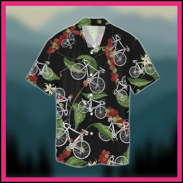 Natural seamless cycling hawaiian shirt2