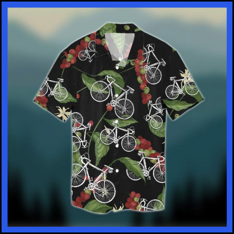 Natural seamless cycling hawaiian shirt3