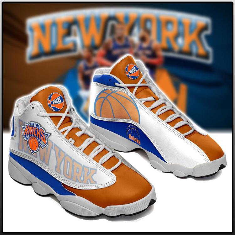 New York Knicks Basketball Air Jordan 13 Sneaker