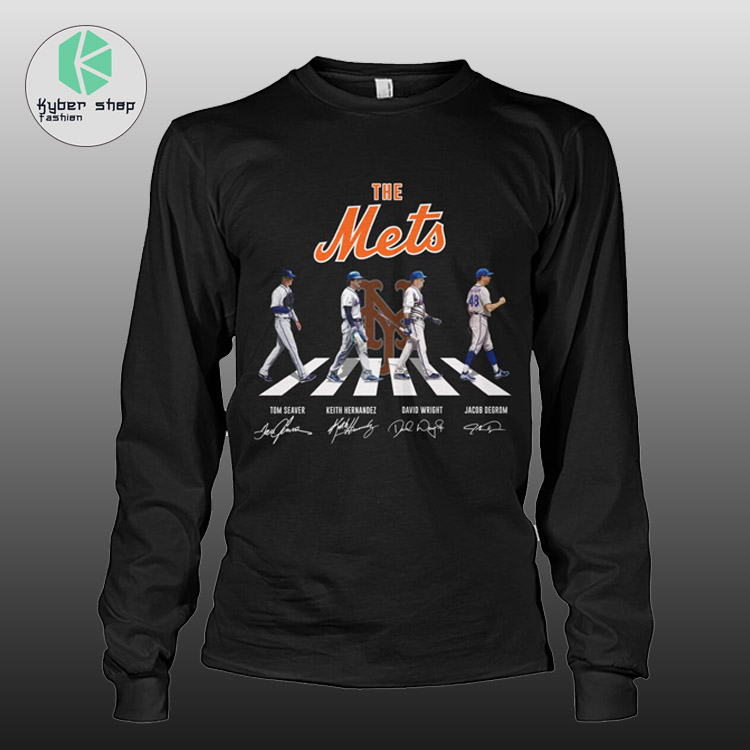 New York the mets abbey road shirt hoodie 3