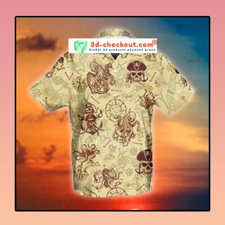 Octopus pirate hawaiian shirt3