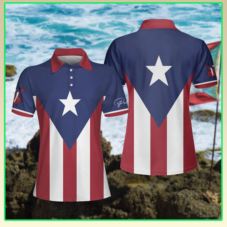 Puerto pico flag polo shirt4