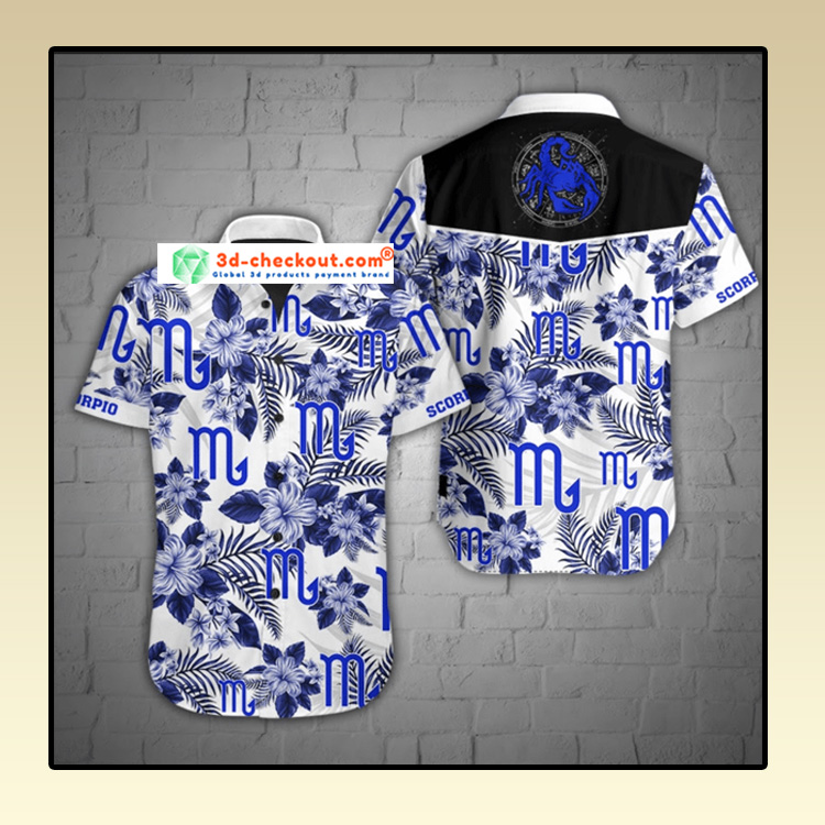Scorpio Hawaiian Shirt2 1