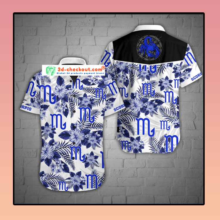 Scorpio Hawaiian Shirt3 1