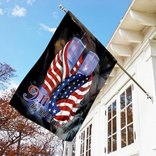 September 11th Never Forget Flag1