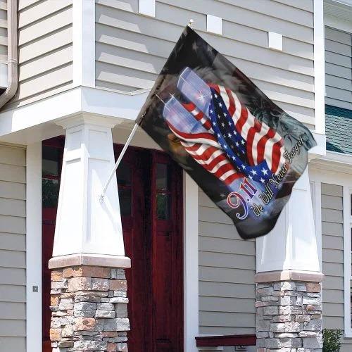September 11th Never Forget Flag3