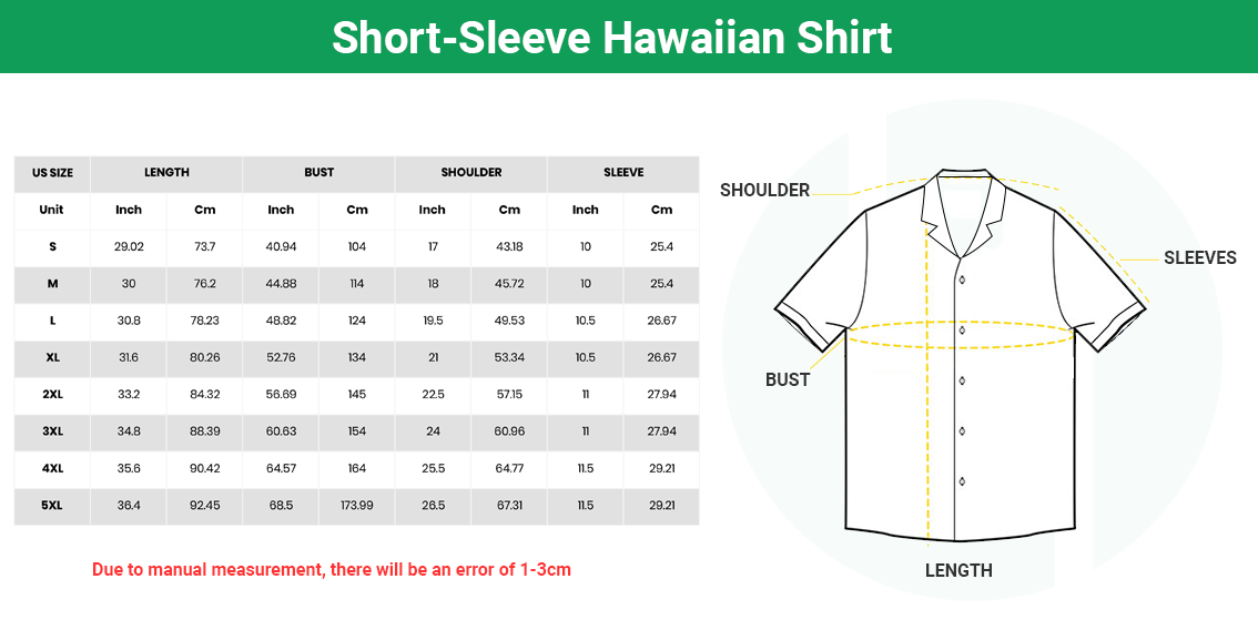 Short Sleeve Hawaiian Shirt 4