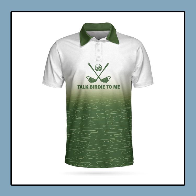 Talk Birdie To Me Golf Polo Shirt