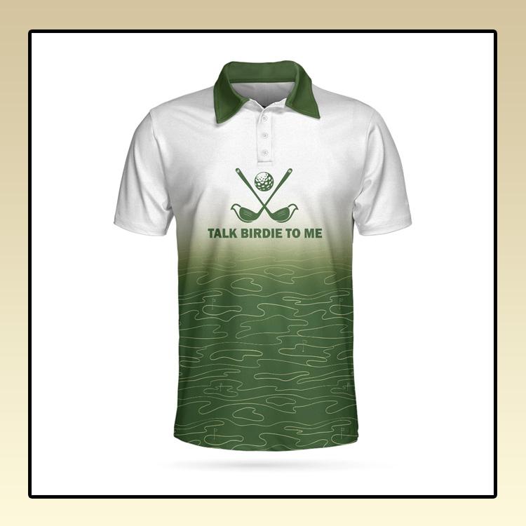 Talk Birdie To Me Golf Polo Shirt1