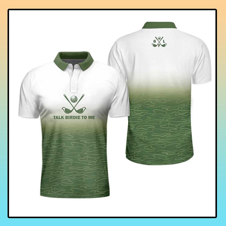Talk Birdie To Me Golf Polo Shirt4