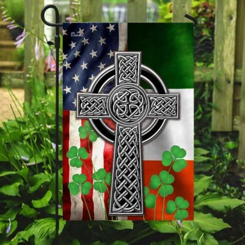 The Irish Celtic Cross Flag2