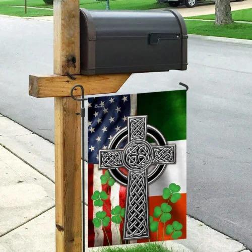 The Irish Celtic Cross Flag3