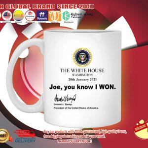 The White house Joe You know I won mug 3