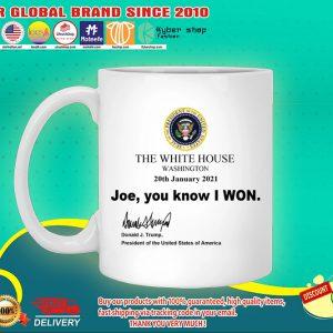 The White house Joe You know I won mug 4