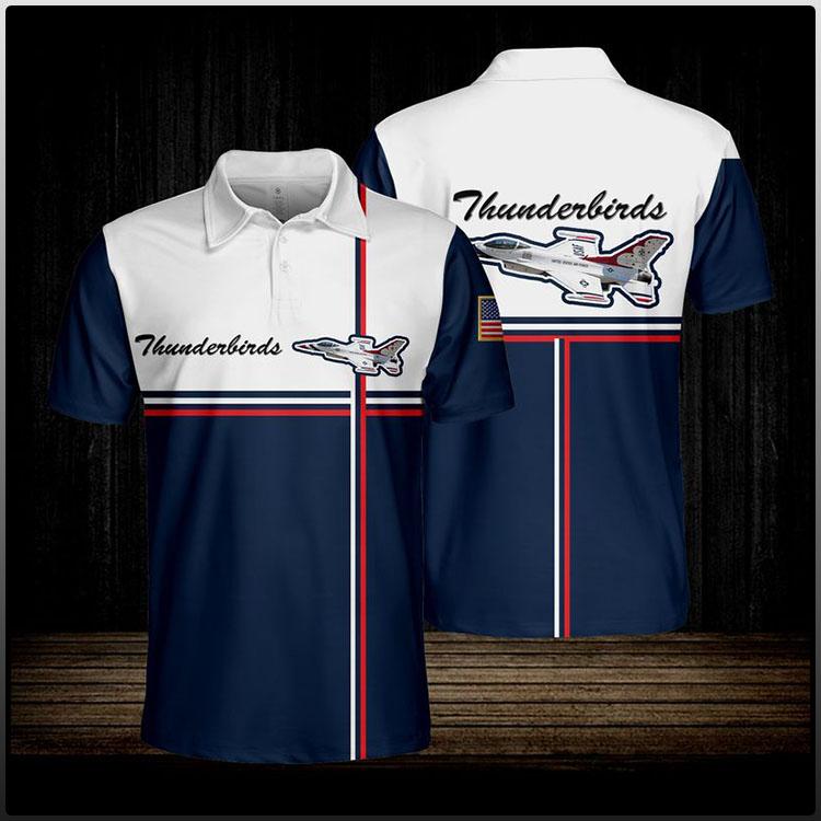 Thunderbirds Usaf Polo shirt4
