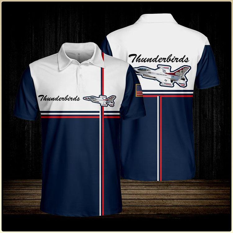 Thunderbirds Usaf Polo shirt6