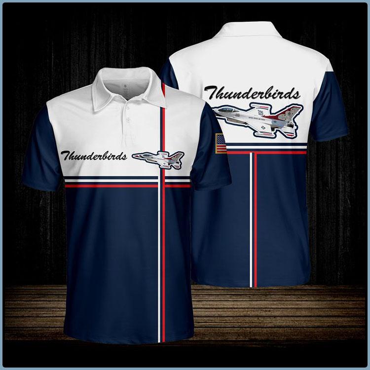 Thunderbirds Usaf Polo shirt7
