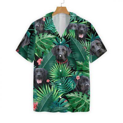 Tropical Labrador Hawaiian Shirt 2