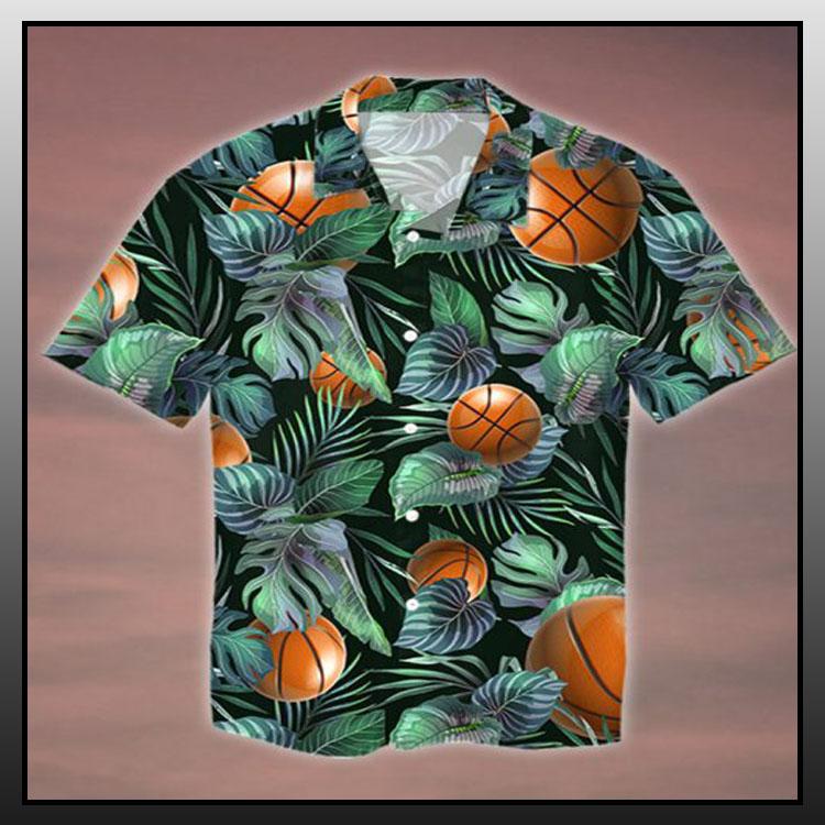 Tropical basketball hawaiian shirt1