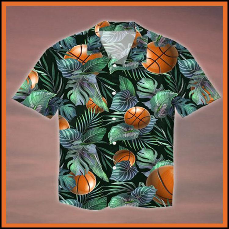 Tropical basketball hawaiian shirt2