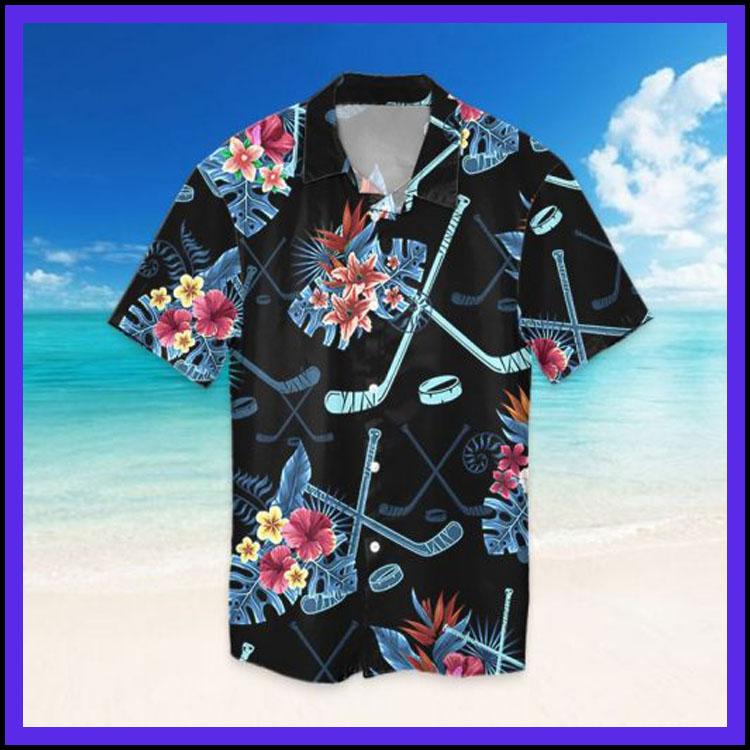 Tropical hockey hawaiian shirt3