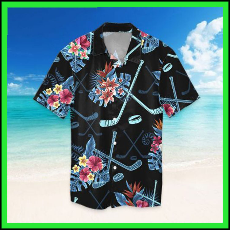Tropical hockey hawaiian shirt7
