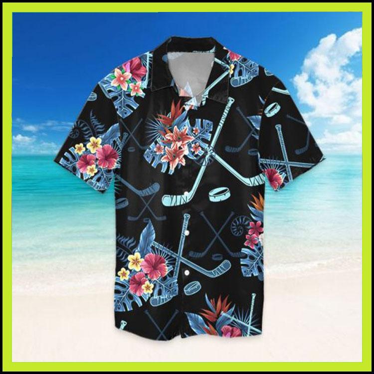 Tropical hockey hawaiian shirt8