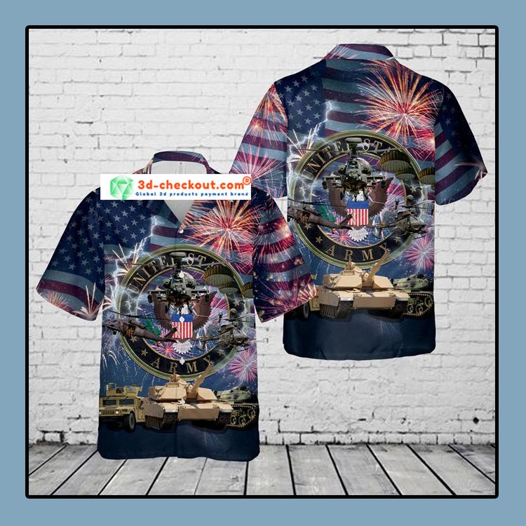 US Army 4th Of July Hawaiian Shirt1 1