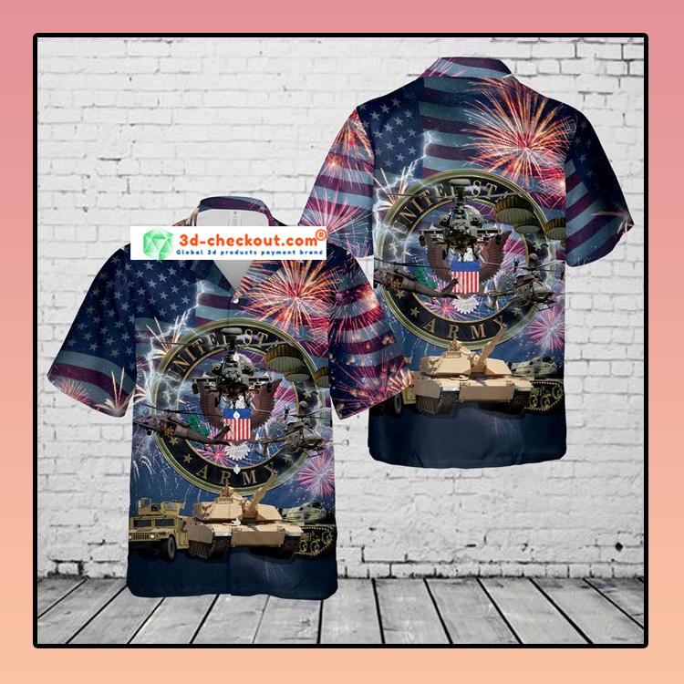 US Army 4th Of July Hawaiian Shirt3 1