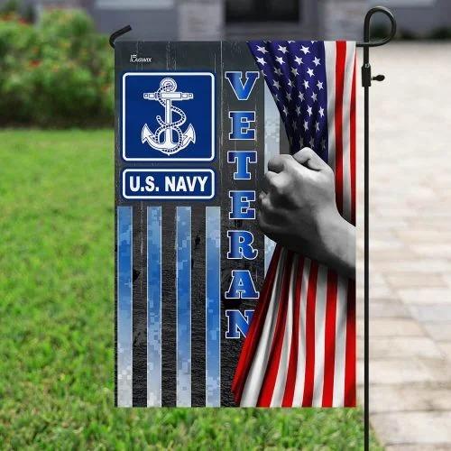 US Navy veteran American flag4
