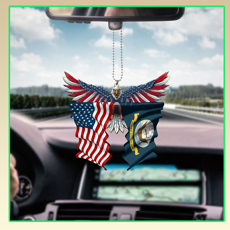United State Navy American eagle car hanging ornament5