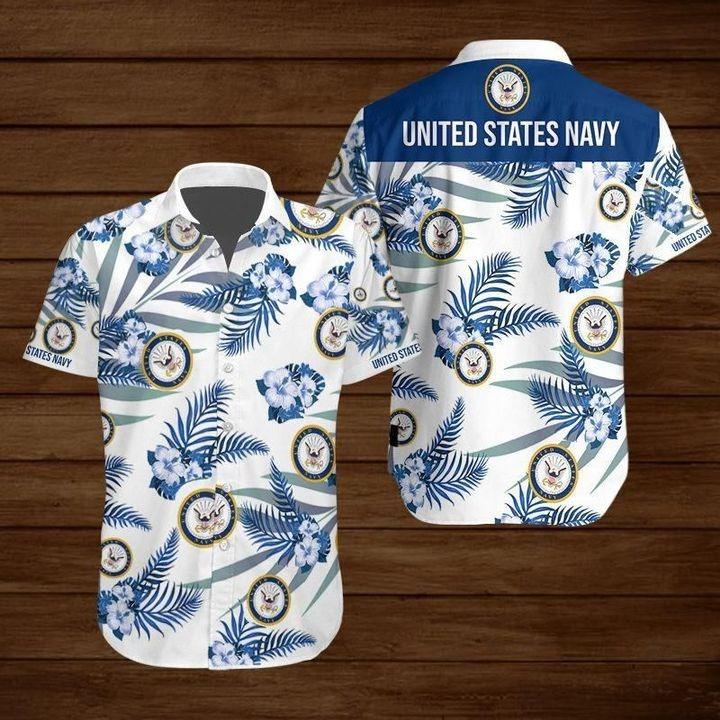 United States Navy Hawaiian Shirt 2